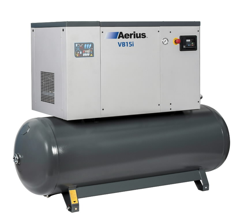 kruvikompressor  15kW VB15i-10-500-D, Aerius
