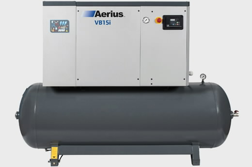 kruvikompressor  11kW VB11i-8-272-D, Aerius