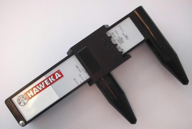 PCD measuring tool 4/5/6 hole rim, Haweka