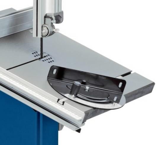 Cross cutting gauge for HBS 300, Scheppach