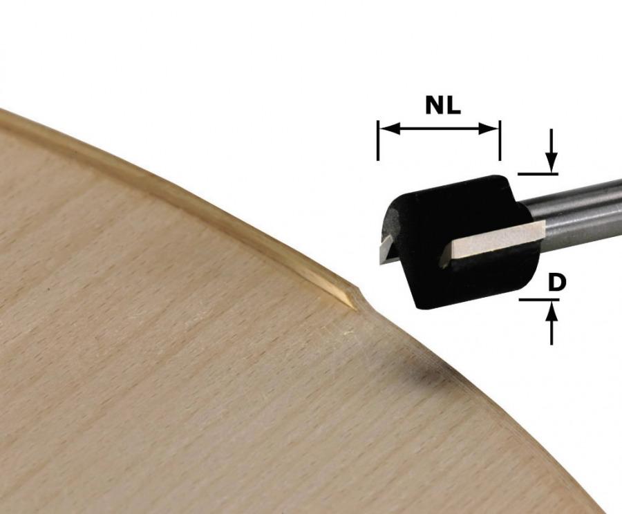 Edge trimming cutter HW, D19/16, S8, MFK 700, Festool