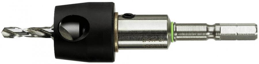 Centrotec puur koos sügavuspiirikuga BSTA HS 4,5mm, Festool