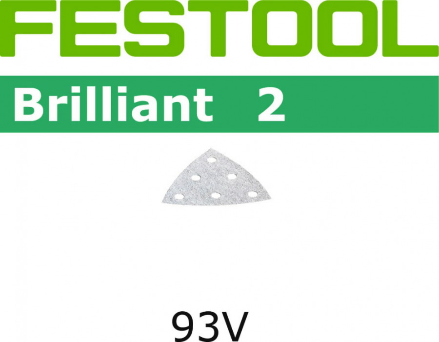 Lihvpaberid BRILLIANT 2 / V93/6 / P100 / 100tk. DX 93, Festool