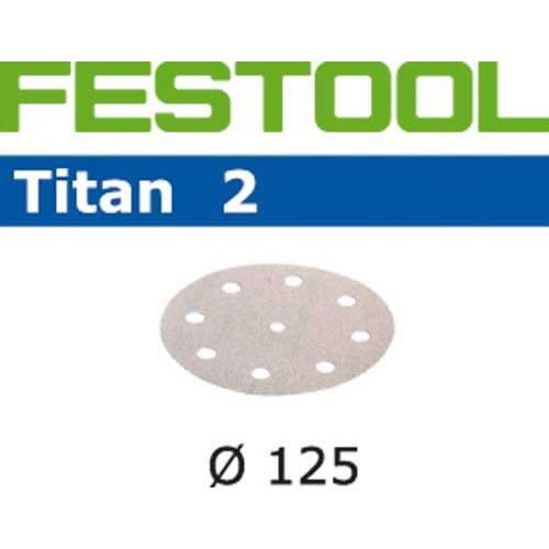 Lihvkettad TITAN 2 / STF D125/90 / P120 / 100tk, Festool