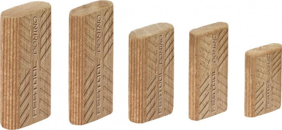 Kaiščiai DOMINO D 5x30 300 vnt. Sipo wood, Festool