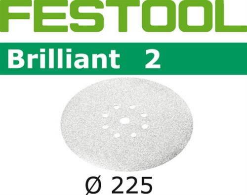 Lihvkettad BRILLIANT 2 / STF D225 / P150 / 25tk, Festool