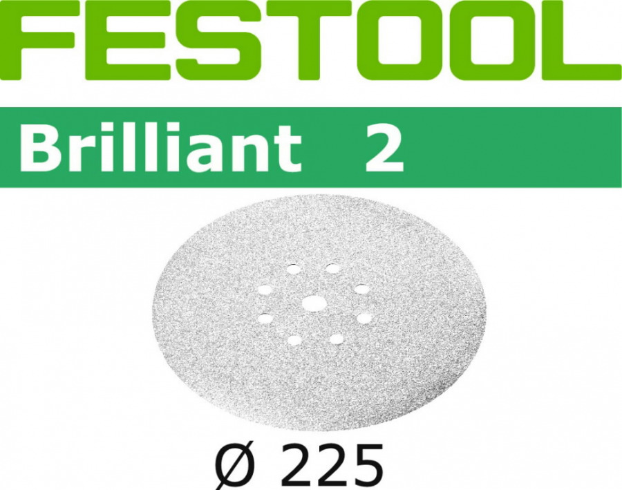 Lihvkettad BRILLIANT 2 / STF D225 / P320 / 25tk, Festool