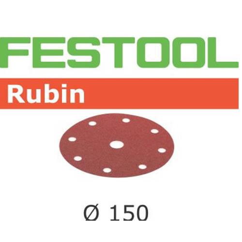 Lihvkettad RUBIN / STF D150/16 / P120 / 50tk, Festool