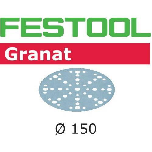Lihvkettad GRANAT / STF D150/16 / P500 / 100tk, Festool