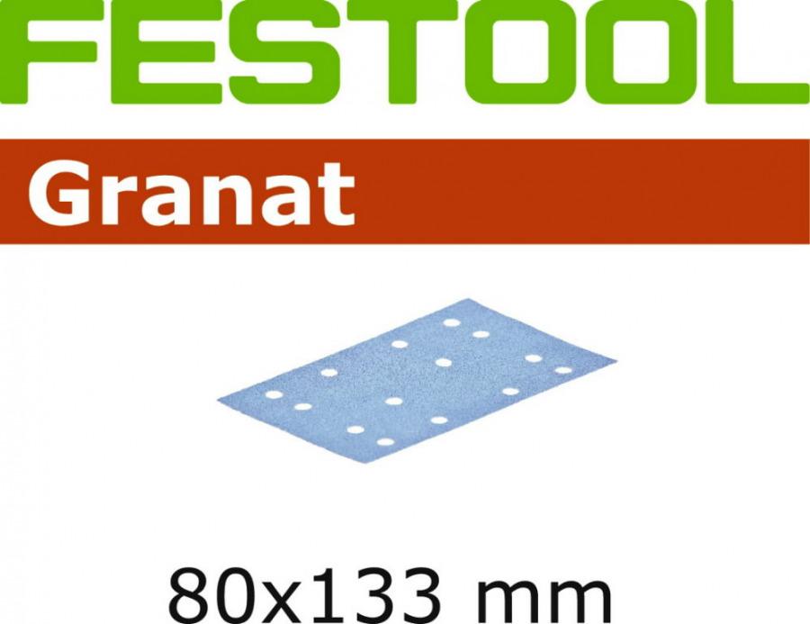 Lihvpaberid GRANAT / STF 80x133/14 / P240 / 100tk, Festool