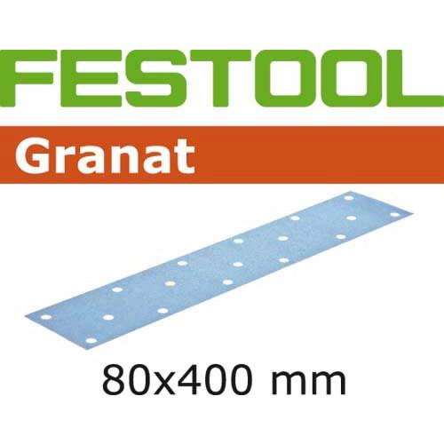 Lihvpaberid GRANAT / 80x400 / P180 / 50tk, Festool