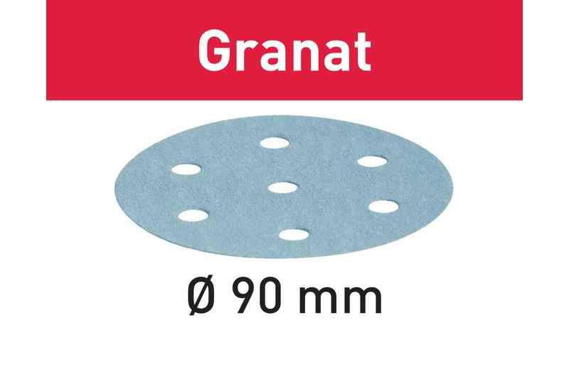 Lihvkettad GRANAT / STF D90/6 / P80 / 50tk, Festool