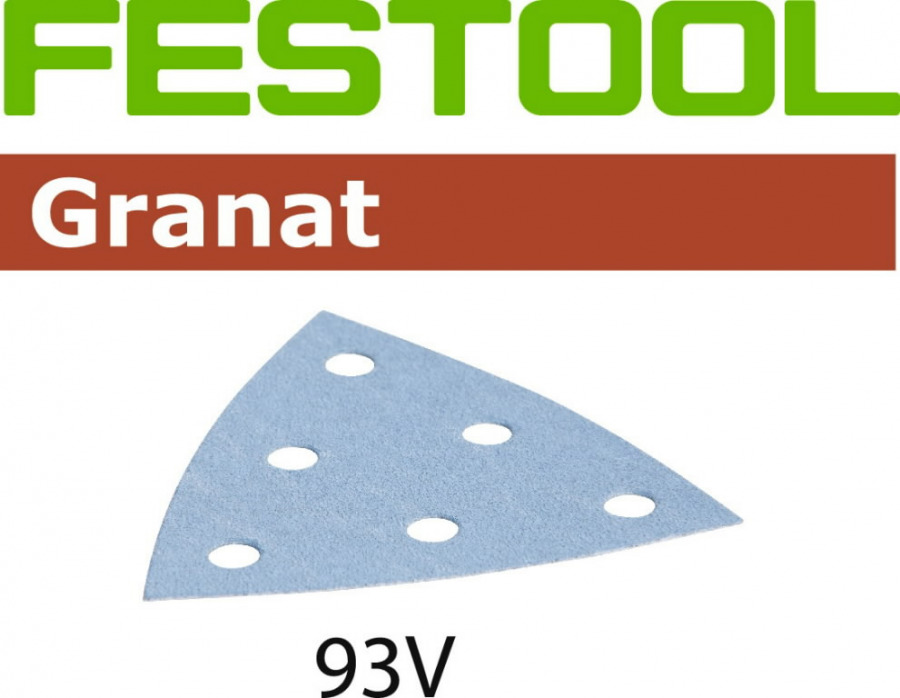 Lihvpaberid GRANAT / STF V93/6 / P60 / 50tk, Festool