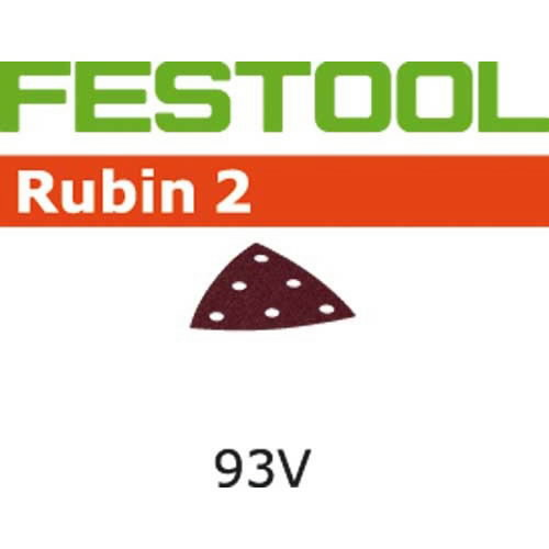 Šlifavimo lapai RUBIN 2 /  STF V93/6 / P400 - 100pcs, Festool