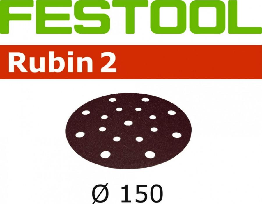 Šlif.popierius RUBIN2 STF D150/16, P180, Festool