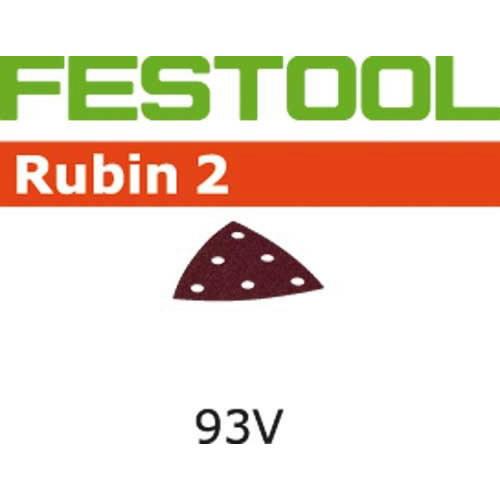 Šlifavimo lapai RUBIN 2 /  STF V93/6 / P180 - 50pcs, Festool