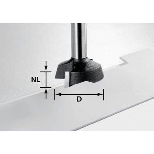 Edge trimming cutter HW shank 8 mm, Festool