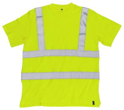 Kõrgnähtav T-särk Roblin helkuritega kollane XL, Mascot