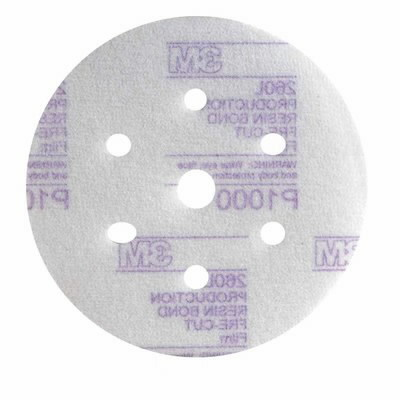 Šlif.diskas Hookit 152mm/7sk. P1000 Purple , 3M