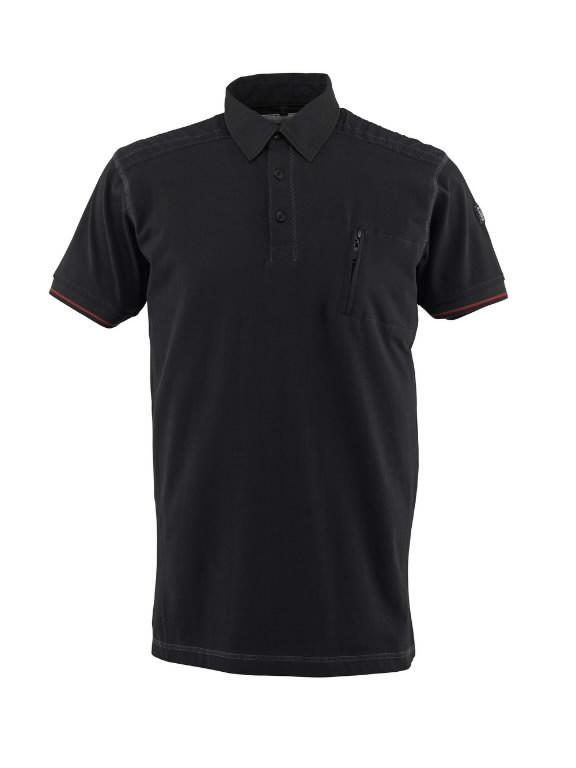 Kreta polo marškinėliai juodi S, Mascot