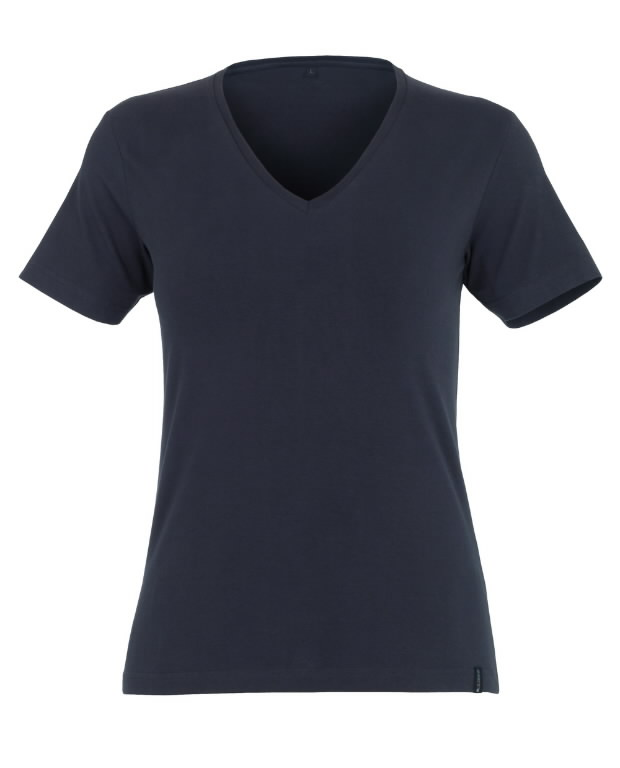 Skyros moteriški marškinėliai tamsiai mėlyni, Mascot