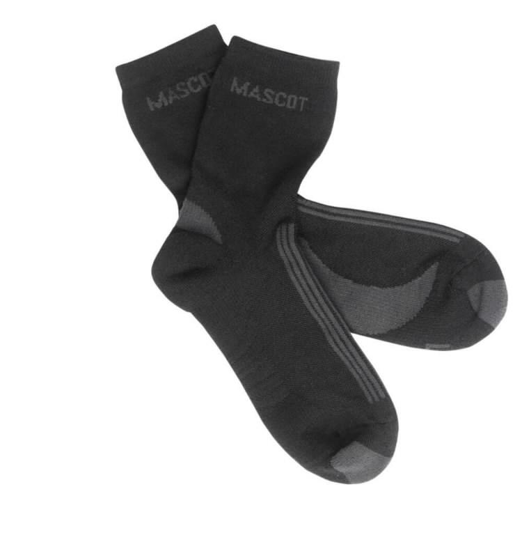 Asmara Kojinės juodas/tamsus antracitas, Mascot