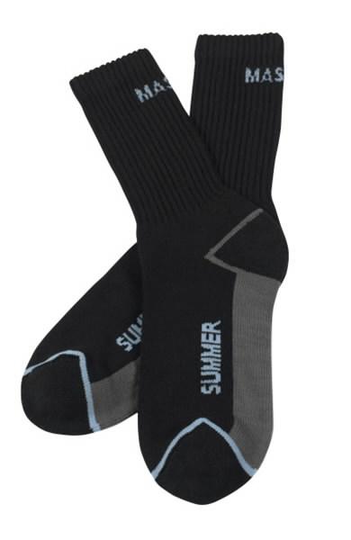 Kojinės Manica vasarinės juodos  3vnt pakuotėje, Mascot