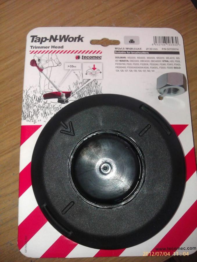 trimmipea Tap n GO, M12x1.50 LH.F. + M14x1.50 LHF, Oregon