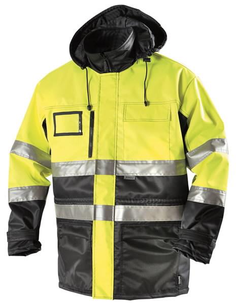 Žieminis švarkas  5111signalinis geltonas/mėlynas L, Dimex
