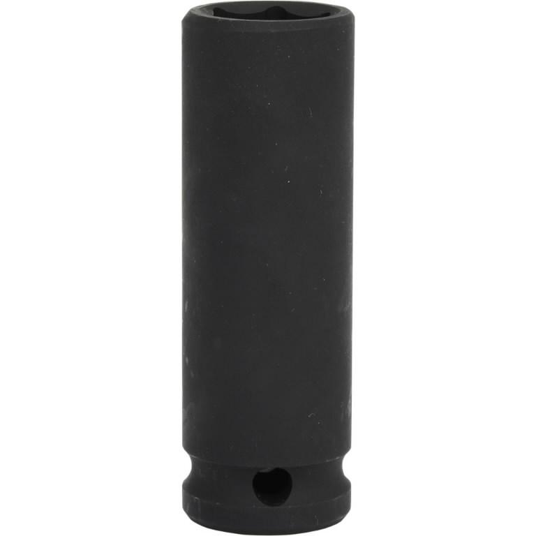 Šešiakampė  smūginė galvutė, ilga 1/2´´ 8mm, KS tools