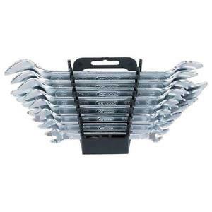 CLASSIC raktų atvirais galais komplektas 8 vt, 6x7-20x22mm, KS tools
