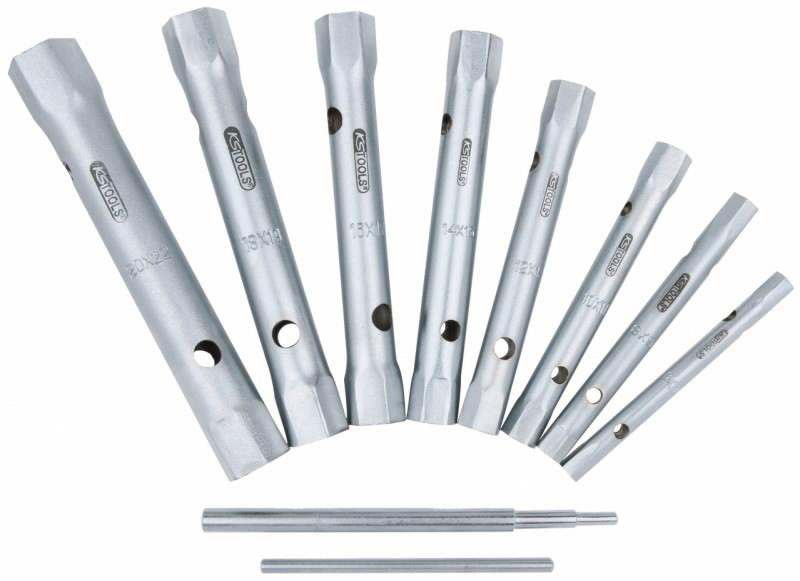 mutrivõti kmpl 10 osaline, 6-22mm, KS Tools