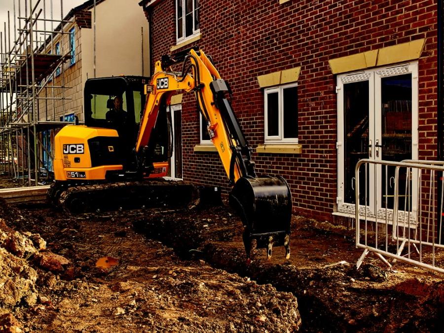 Mini excavator  51R, JCB