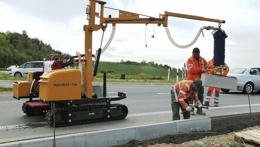 Installation Carrier- TRANSMOBIL TM-150-D-A-XL, Probst
