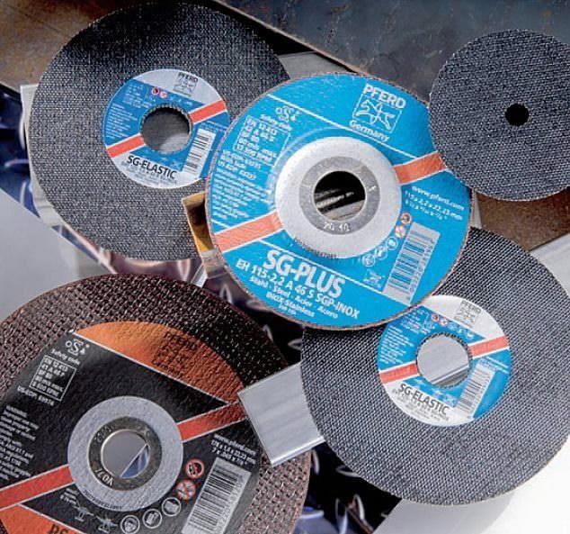 Pjovimo diskas 230x2,5x22 A24T SG-P, Pferd