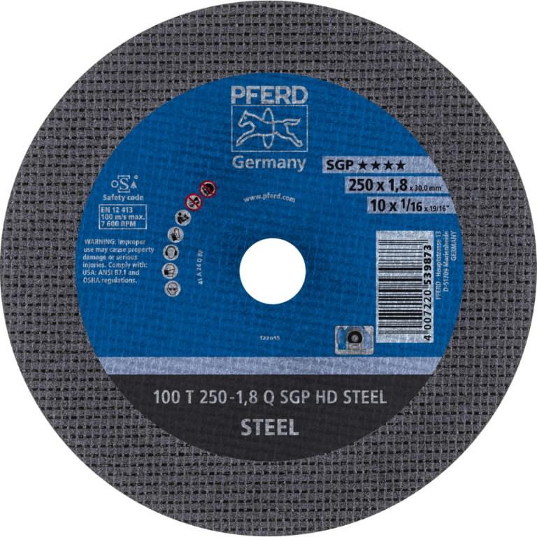Metallilõikeketas 250x1.8x30 mm 41 A24 Q BF 100 SG-HD, Pferd