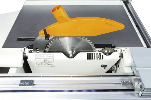 Pre-scoring device with saw blade Ø 100 mm