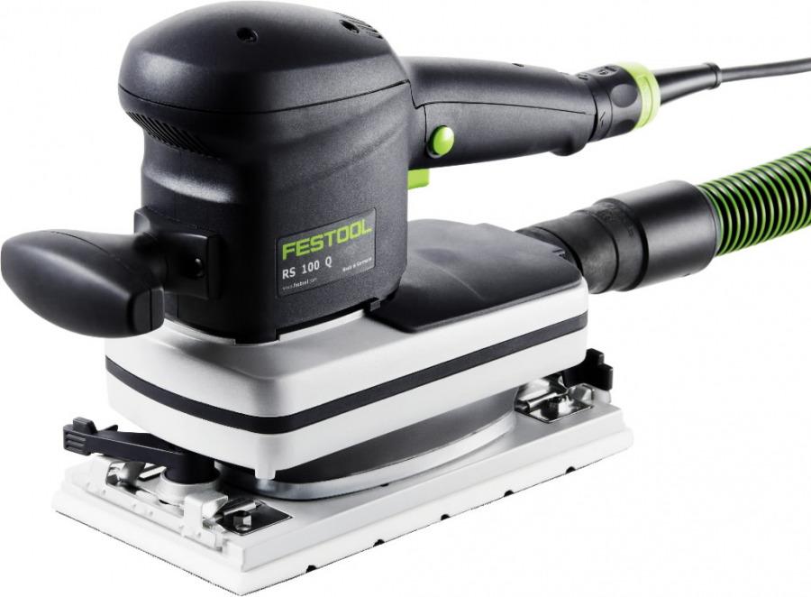 Plokštuminis šlifuoklis RS 100 Q-Plus, Festool
