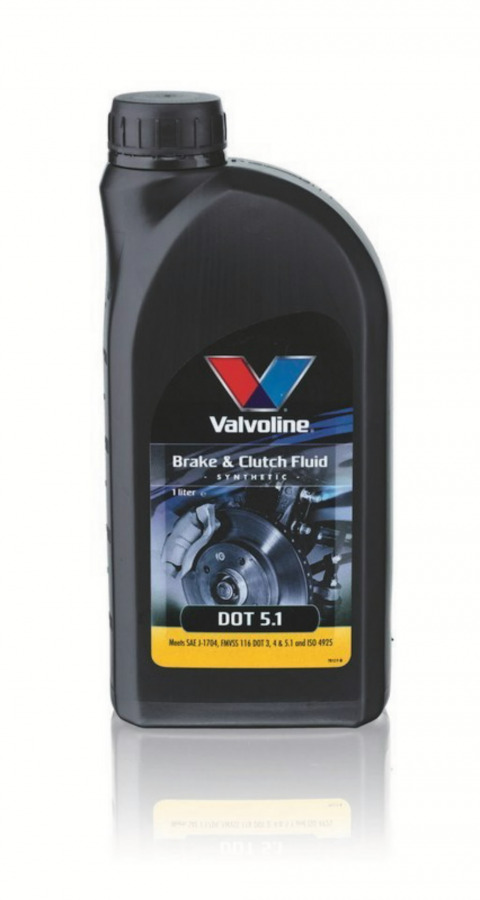 Skystis stabdžiams DOT 5.1 250 ml, Valvoline