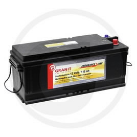 Battery 12V 110Ah AZ27734, AL27257, AT26552, GRANIT