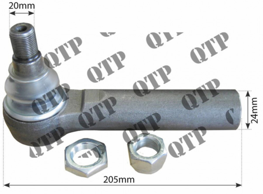 Rooliots välimine 87583742, AL161301, AL204776 JD NH, Quality Tractor Parts Ltd