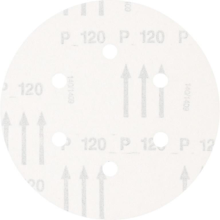 Diskas velcro  150mm P120 KSS 6 L A 6 hole, Pferd