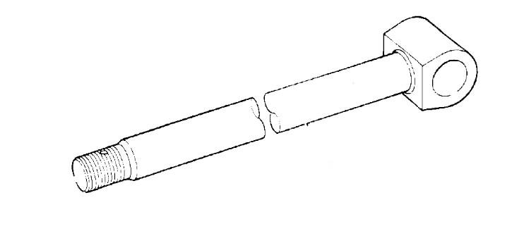 Kotas hidraulinio cilindro, JCB