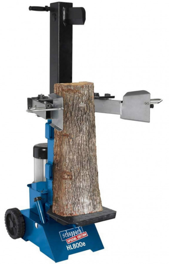 Hüdrauliline vertikaalne puulõhkuja HL 800e, Scheppach