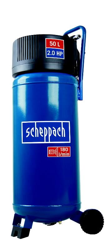 Õlivaba vertikaalne kompressor HC 50V, Scheppach