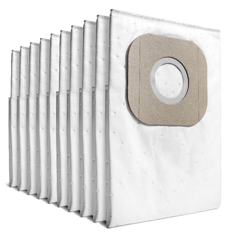 Flisiniai filtrai maišeliai T 7/1 Classic, 10 vnt., Kärcher