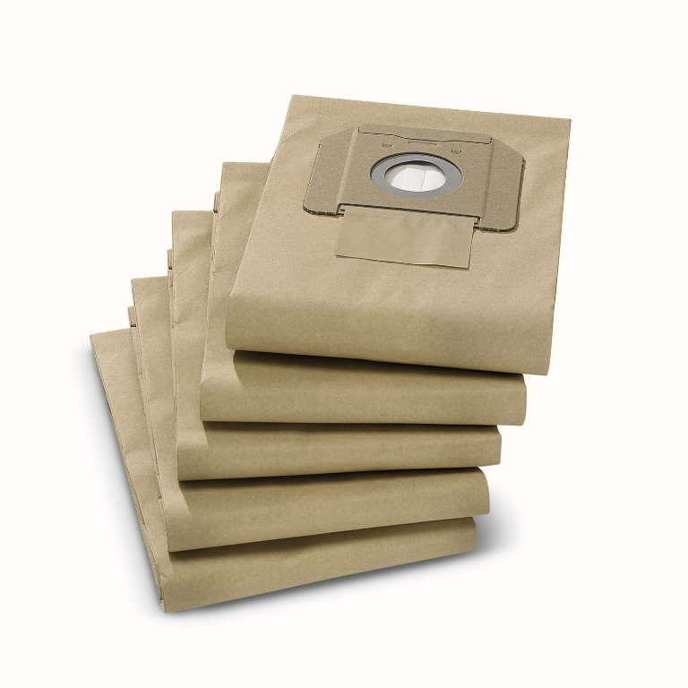 Popieriniai filtrų maišeliai NT35/1, 5vnt., Kärcher