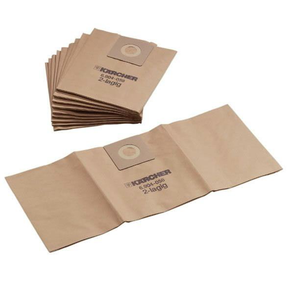 Popieriniai filtrų maišeliai NT 35/1, 5vnt, Kärcher