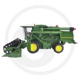 Model John Deere combine harvester T670i BRUDER, GRANIT