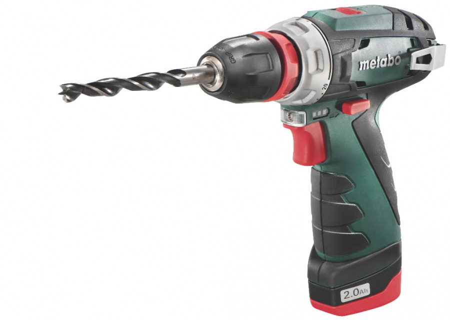 Akutrell PowerMaxx BS Quick Basic, kohvris / 2,0Ah, Metabo